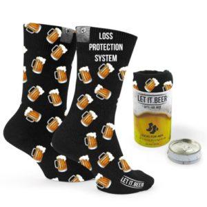 Socks For Men Beer Print