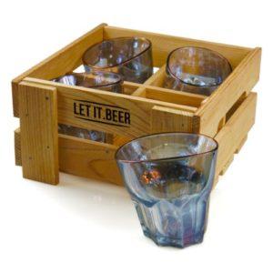 Whiskey Glasses Vintage Handmade Set